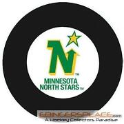 Minnesota North Stars Puck