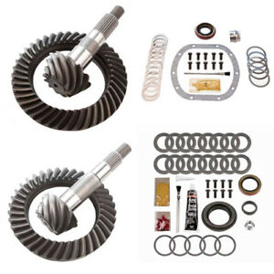 4.56 RING AND PINION GEARS & INSTALL KIT PACKAGE - DANA 30 TJ FRONT / D35 REAR