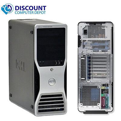 Fast Dell T7500 Windows 10 Pro Trading Computer 2.40 Quad Core Xeon 16GB 1TB
