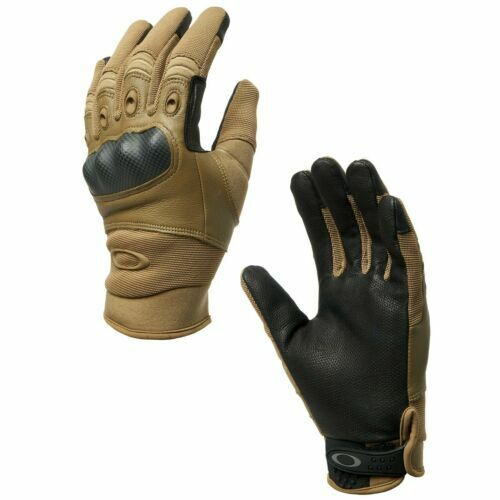 New Oakley Factory Pilot Coyote Tactical Gloves LARGE