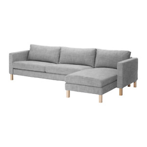 IKEA Karlstad Sectional Couch in Grey