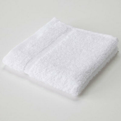 24-PACK NEW WHITE 100% COTTON WASHCLOTH FACE CLOTH WASH CLOTH TOWEL (12x12 INCH) for sale  Toronto