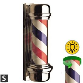 Barber poles for outside use Barber shop Barber chair sign