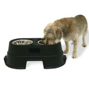 Dog kennel - Raised Food Dish - Food Storage