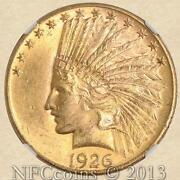 10 Gold Indian MS63