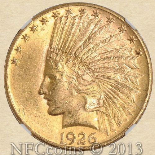 10 Gold Indian Ms 63 Ebay