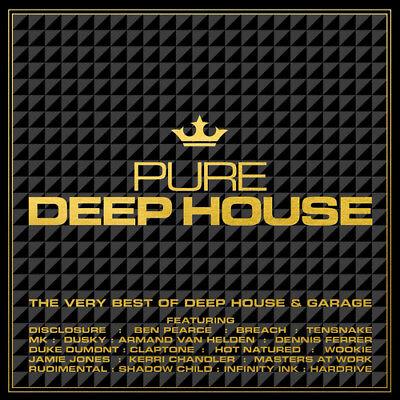 Various Artists : Pure Deep House: The Very Best of Deep House & Garage CD