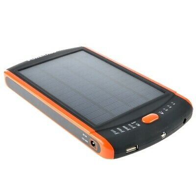 Solar Panel Mobile Power Bank Battery Charger 23000mAh for PDA Laptop Notebook