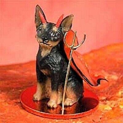 Miniature Pinscher (Black/Tan) Devil 75% of $$$ Sale is for IMPS!
