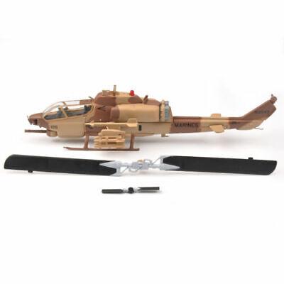 IXO 1/72 US Army Super Cobra Gunship Model Diecast Helicopter Aircraft Toy AH-1W ()