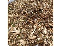 Woodchip hardwood wood chip bulk bag