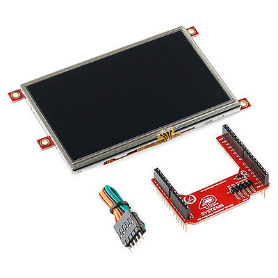 4d Systems Lcd-43pt-ar Arduino Display Module 4.3 Touchscreen Lcd New