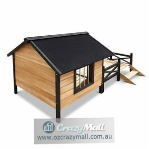 Extra Large Dog Timber Kennel with Deck Sydney City Inner Sydney Preview