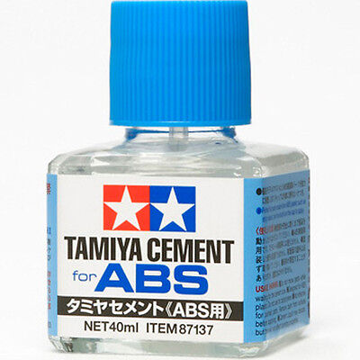 Abs Plastic Cement - TAMIYA 87137 ABS Cement Glue 40ml for PLASTIC MODEL KIT CRAFT TOOLS NEW