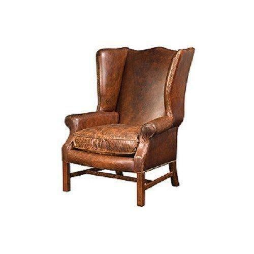 Leather Wing Chair Ebay