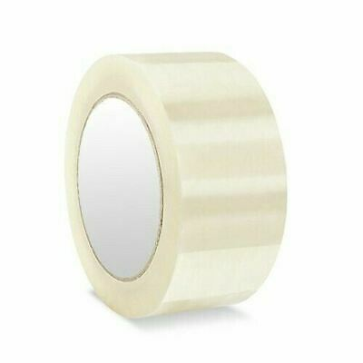 6 Rolls Clear Packing Packaging Carton Sealing Tape 2 1.8 Mil 110 Yards 330