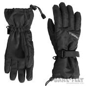 Womens Black Ski Gloves