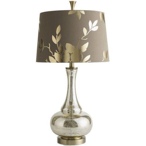 Gold Leaf Lamp Ebay