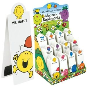 Mr-Men-and-Little-Miss-Magnetic-BOOKMARKS-Mr-Cool-Clever-Bump-Funny-Happy-etc