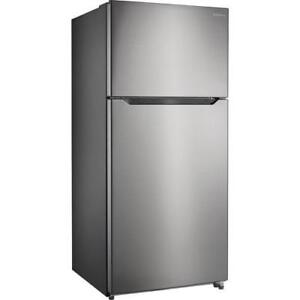 Brand New Stainless Steel 18 Cu. Ft. Fridge - Payment Plan