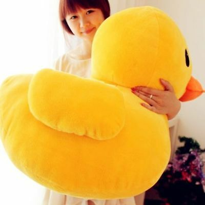 Large Giant Yellow Duck Stuffed Animal Baby Plush Toys Doll lot Pillow Xmas (Duck Infant Stuffed Animal)