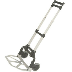 Heavy Duty Folding Aluminium Telescopic Foldable Hand Sack Truck Barrow Trolley
