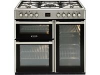 DISCOUNTED - Leisure CMCF96X Dual Fuel Range Cooker- MISSING PACKAGING