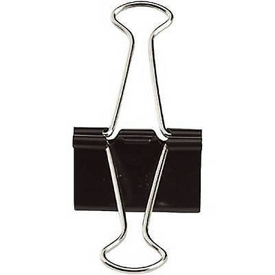 Quill Small Binder Clips 38 Capacity 12 Per Box