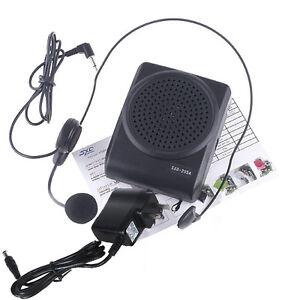 3 in 1 Mini 8 Multi Voice Changer Microphone Megaphone Loudspeaker Black