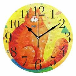 Melting Clock Plastic Looks Fantastic Design Great Home Gifts For All Ages NEW