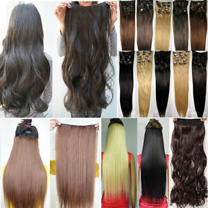 Quality-New-8pcs-Full-Head-With-Clip-in-Hair-Extensions-for-2014-Human-Made-Hair