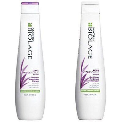 Ultra Conditioning Shampoo (Matrix Biolage Ultra Hydrasource Shampoo & Conditioning Balm 13.5Oz duo)