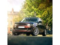 23 inch Alloy Wheels Kahn RS650 Range Rover Sport Vogue set of 4 Forged