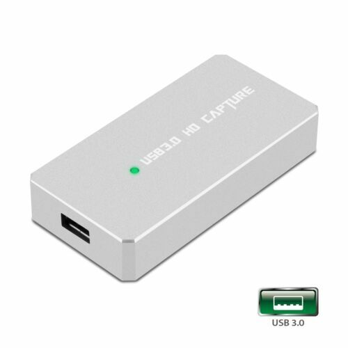 HDMI to USB 3.0 Video Capture Card Adapter 1080P HD Recorder