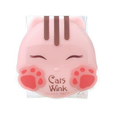 [TONYMOLY] Cats Wink Clear Pact 11g (2 Types) / (Cat Face Type)