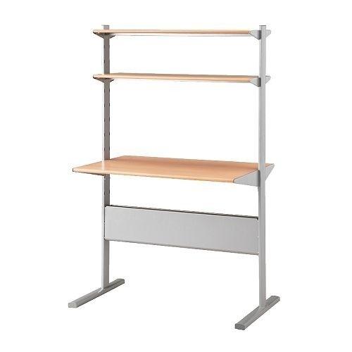 Ikea Fredrik Computer Desk Workstation Study Standing E Saving