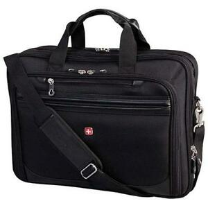 "SwissGear SWA0954D 17.3"" Laptop Business Case - Black (New Other)"