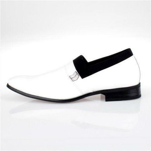mens white tuxedo shoes ebay