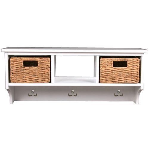 Coat Rack With Baskets Home Furniture DIY EBay