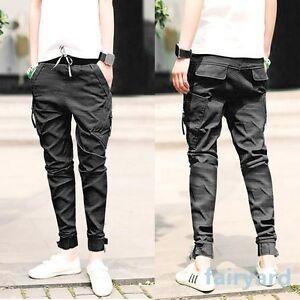 Vintage-Feet-Pants-Jeans-Men-Fashion-Slim-Fit-Skinny-Pencil-Trousers-Solid-Color