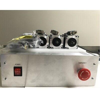 Unassembled-gecko-g540-control-box-kits-with-3pcs-nema23-381oz-in-3-5a-motor