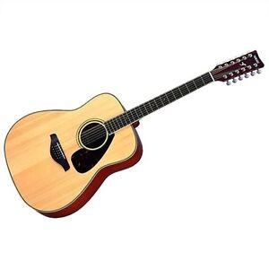 Yamaha fg720s 12 string guitar-like New