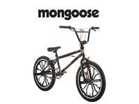 "20"" Mongoose Mode 270 Mag Boys' Freestyle Bike, Black RRP 289.99 Lot 104"