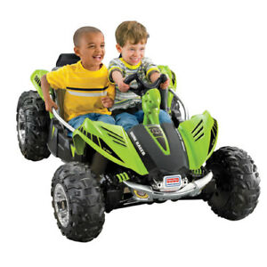 Kids ride on 2 seater dune racer original new pack in case