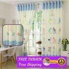 Velvet Sheer Window Curtains