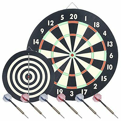 Trademark Global Game Room Dartboard Set with 6 Darts