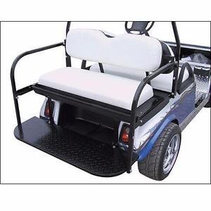 GOLF CART ~ Standard Flip Rear Seat Kit FREE SHIPPING!
