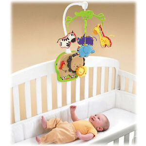 for sale a fisher price zoo animal crib mobile