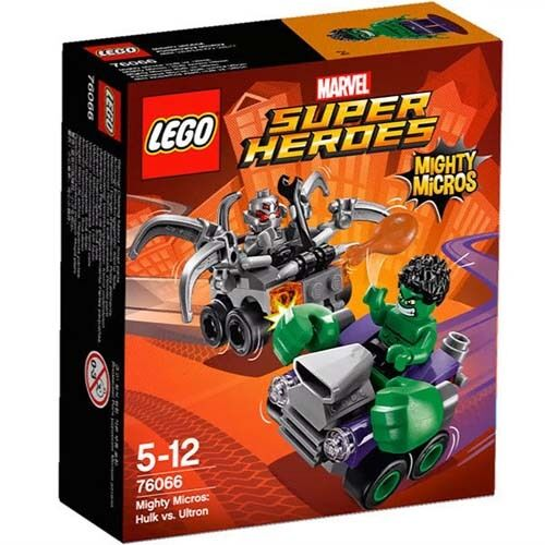 LEGO Marvel Super Heroes 76066 Mighty Micros: Hulk vs. Ultron