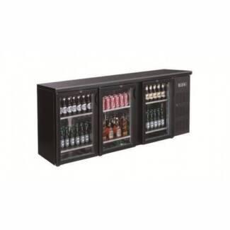 Sale!!! Commercial Bar Fridges - 3 door Glass Display